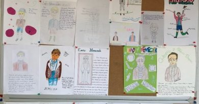 Ilustracje lektur przez uczniów Sekcji