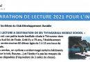 MARATHON DE  LECTURE 2021 POUR L'INDE