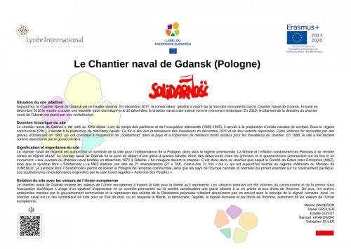 Stocznia Gdanska i Solidarnosc